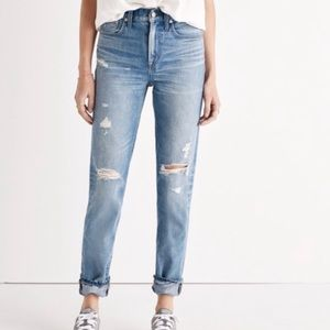 Madewell The Perfect Vintage High-Rise Mom Jean 27